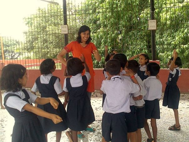 I am running the Mumbai Marathon to give kids from vulnerable backgrounds skills to live a happier life.