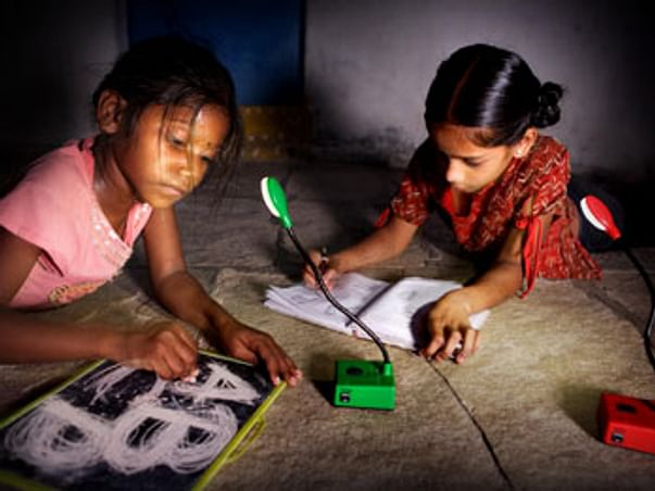 I am fundraising to light up a Child's life by distributing solar lamps