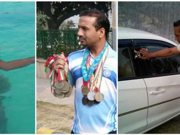 I am fundraising to support paralympic gold medalist swimmer Bharat Kumar