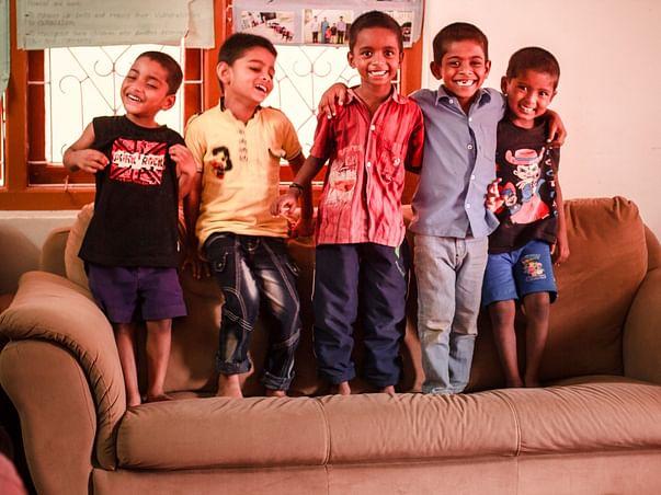 Support the street children at Vidyaranya