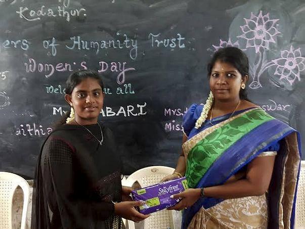Providing Sanitary Napkins to Rural Girls