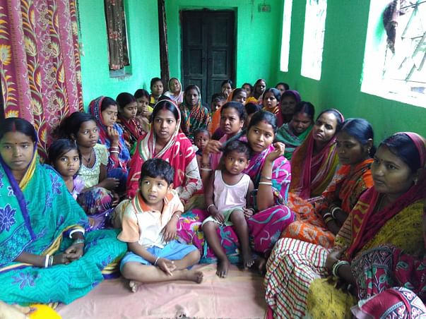 Help setting up a sanitary napkin unit in Shwaspur village in Jharkhan