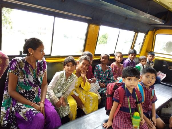 Help the underprivileged kids travel to school