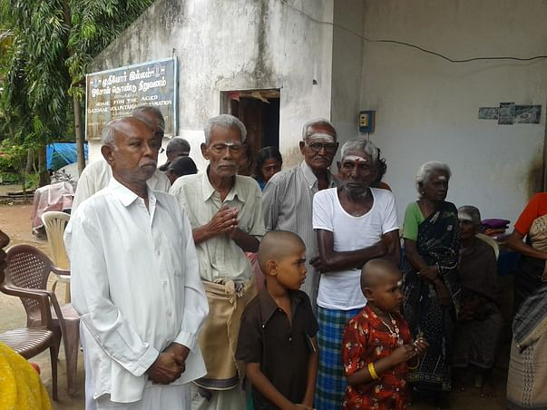 Help take care of the elderly poor