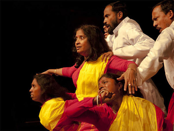 Support Women and Children through Theatre and Art