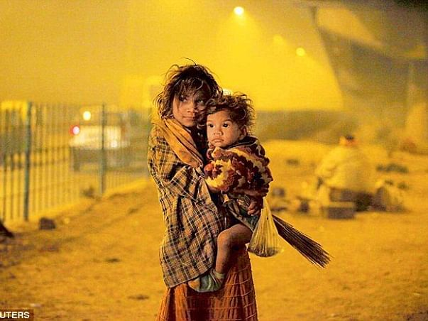 Help homeless poor people and kids to fight winters of North India