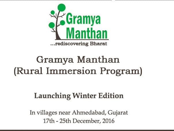 Bringing Learning From Gramya Manthan To Other Rural Villages
