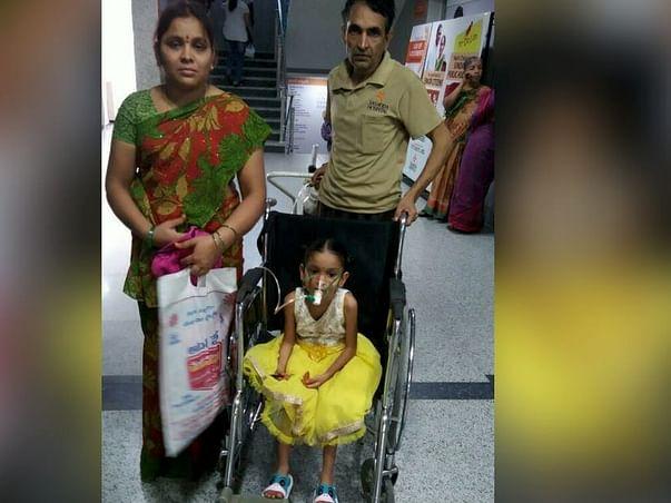 Help 6-Year-Old Lahari Undergo Urgent Lung Surgery