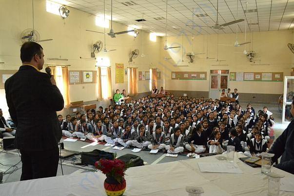 Seminar at Govt Sarvodaya Kanya Vidyalaya, Ranhaula, Delhi 26/11/2016
