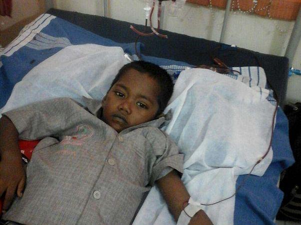 Help 6-year-old Jithesh fight thalassemia !