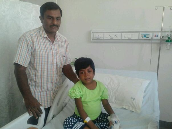 Matching Campaign For 5-Year-Old Madhumitha's Liver Transplant