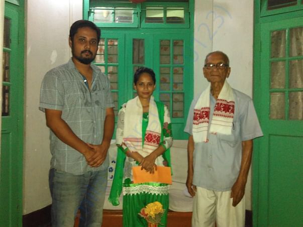 Providing financial aid for educatio to a BPL girl.Fund raised locally