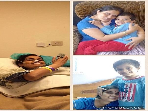 Help Kalpana, Mom Of 5 Year Old Son, Fight Cancer