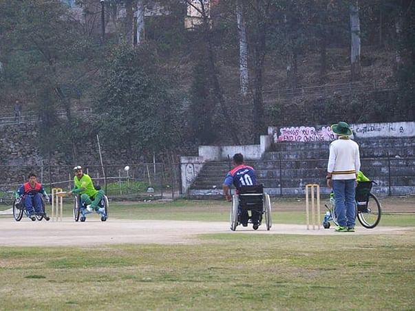 First ever Wheelchair Cricket Tournament in Bangalore.