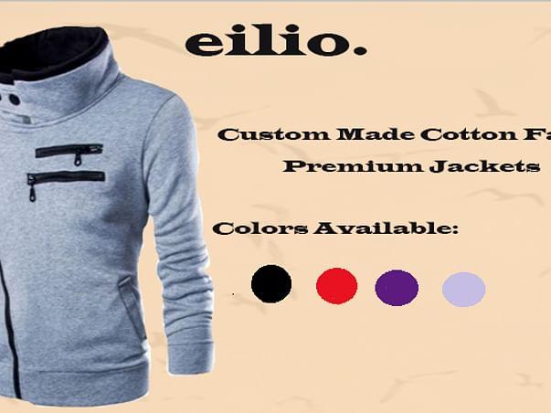 Premium Made Cotton Fabric Jackets - Eilio