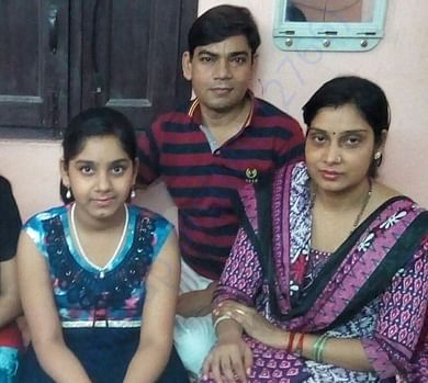 Ramesh and his small family