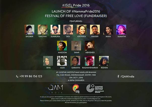QAM(I) for #NammaPride2016 | Event #1