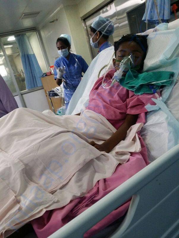 Mithilesh in ICU