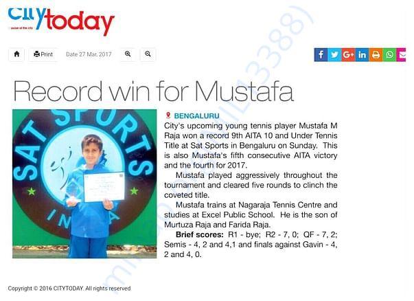 Mustafa Tennis individual grand slam winner and olympic gold.