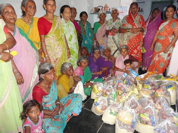 Sponsorship of Groceries to Poor Old Age Persons