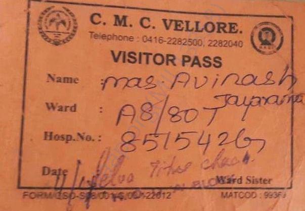 Avinash's Patient ID