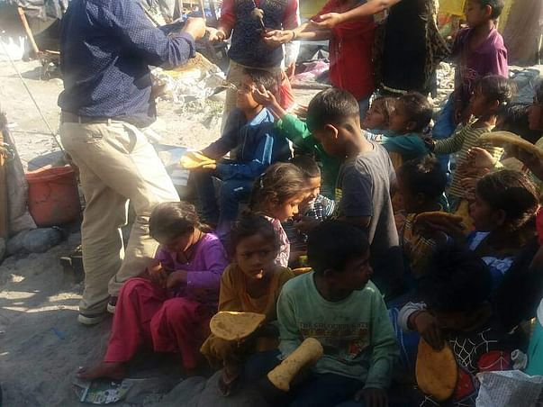Feed and educate poor kids