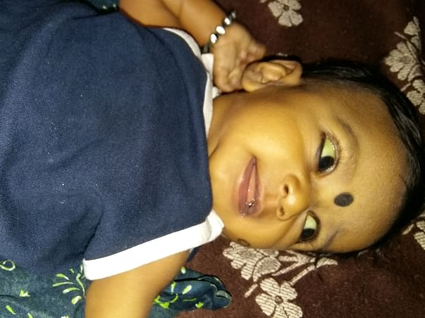 5-month old Baby Nainitha Needs To Undergo Liver Transplant