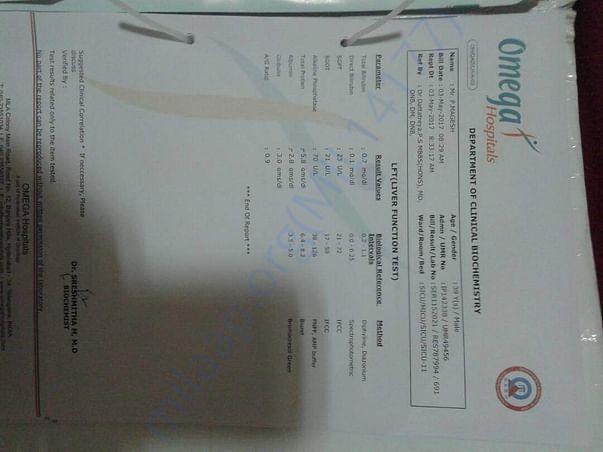 Medical report 1
