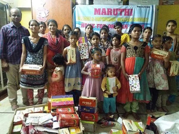 Maruthi orphan home Miyapur Hyd
