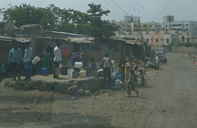 people of wagheshwar slum pannel