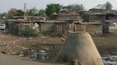 view of wagheshwar slum pannel