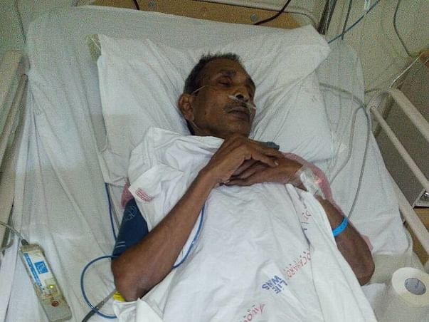 Only A Heart Transplant Can Save My Father. Your Support Can Save Him!