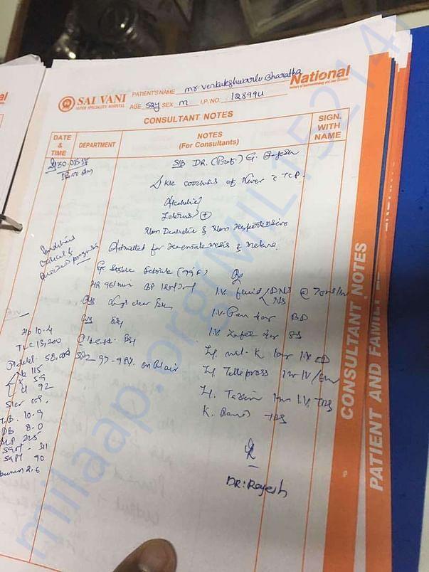 Case sheet - 2