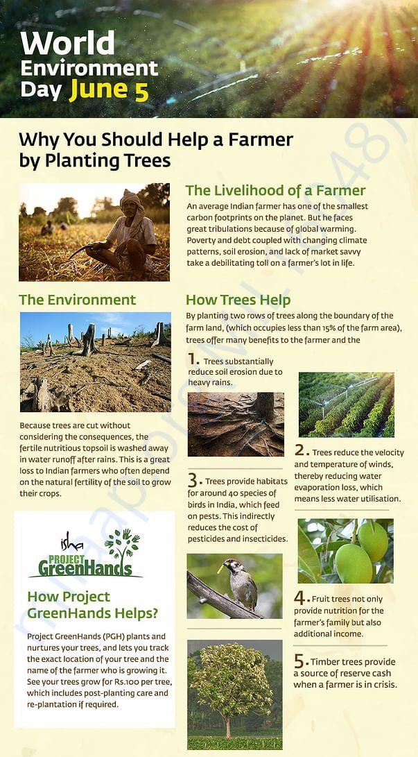 Help a farmer, Plant Trees