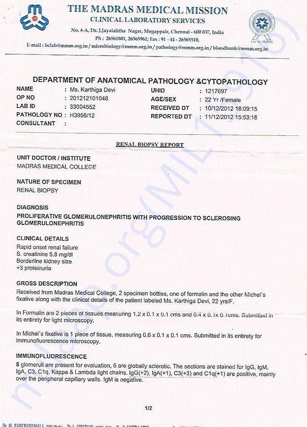 MEDICAL REPOORTS AND BILLS