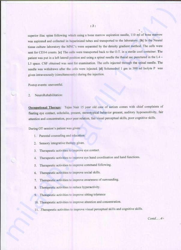 Page 3 - NRRT Treatement Details