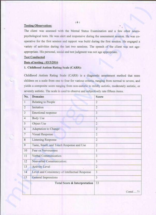Page 6 - NRRT Treatement Details