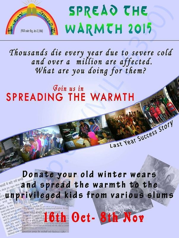 Spreading the warmth campaign