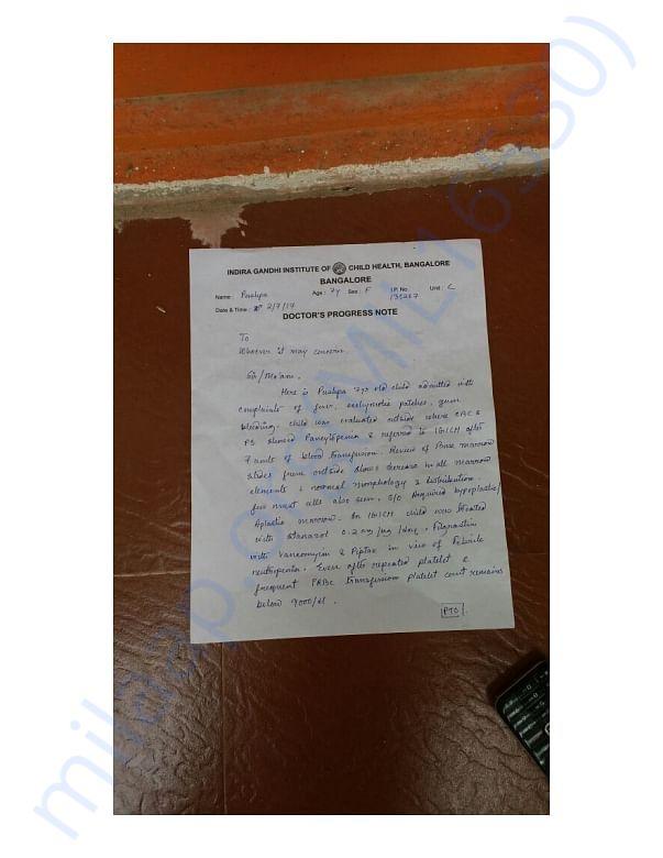IGICH Note