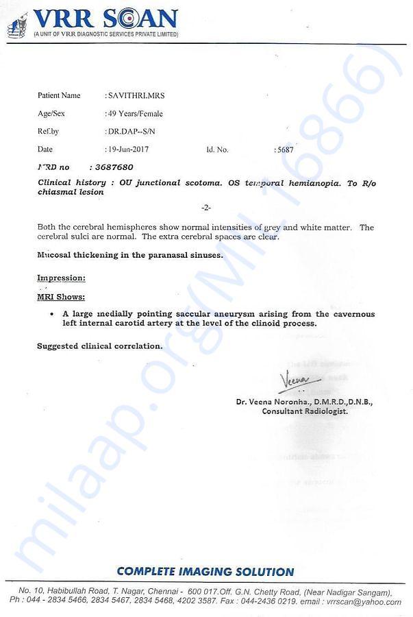 medical report2