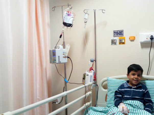 HELP LITTLE VIHAAN TO FIGHT THALASSEMIA (A CRITICAL BLOOD DISORDER)