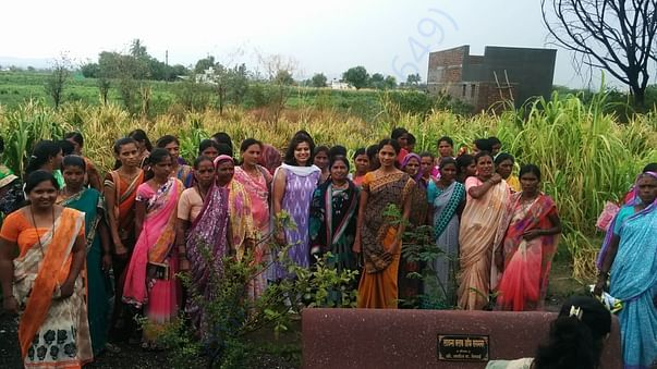 Women farmers involved in Buckwheat farming
