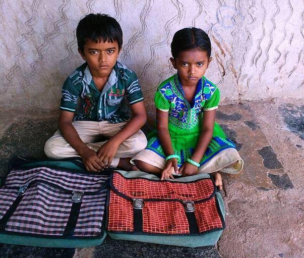 My kids - Navadeep & Deepika