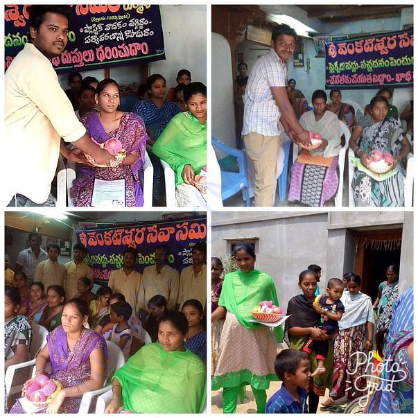 Rukmapur pregnant mother food donation