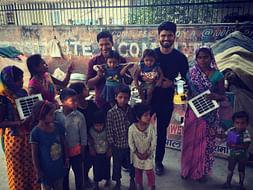 Running 42km Ladakh Marathon to fundraise Solar Lantern