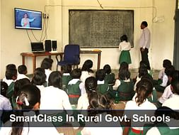 Bringing Smart Classes To 15 Rural Govt Schools in Dist. Singrauli, MP
