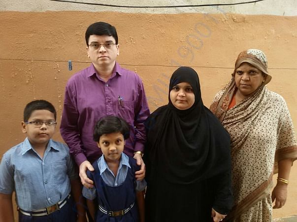 Shafi with family